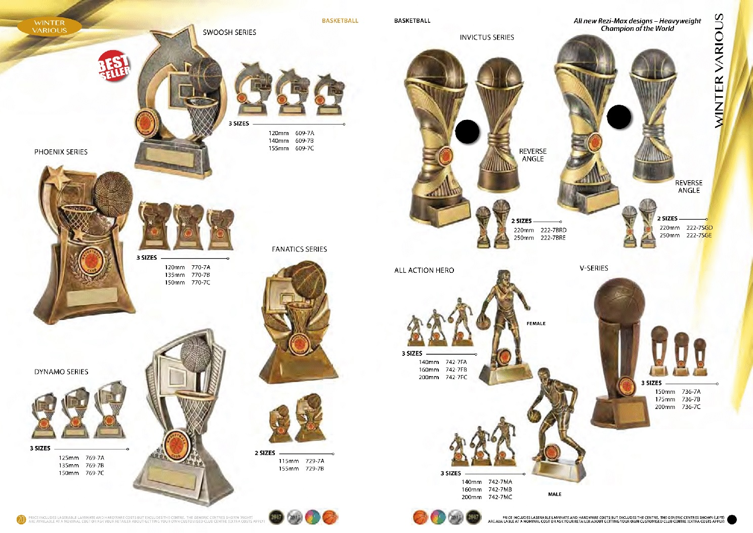 SOME REALLY DIFFERENT TROPHIES